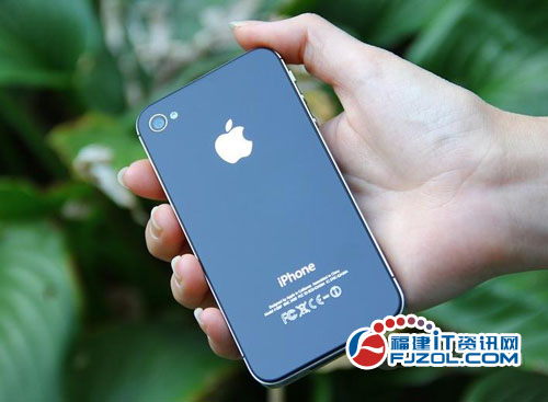 时尚潮人的标志 iPhone4S美版无锁5200